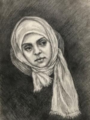Sketchbook drawing #21: Vigilance