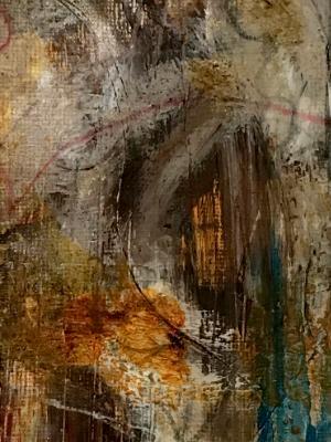 Mini Abstract 15 (Orange series 13-18)