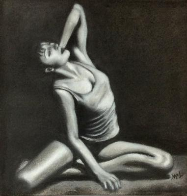 Basking  (Permanent collection Bryn Mawr Hospital)
