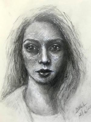 Sketchbook drawing #9 (SOLD)
