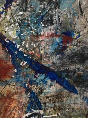 Mini Abstract 5 (Blue Series 1-12)