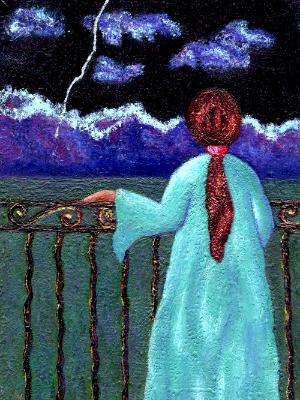Longing Under Night Sky