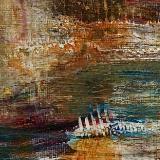 Mini Abstract 17 (Orange series 13-18)
