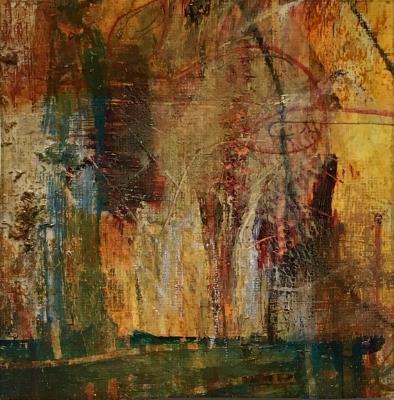 Mini Abstract 18 (Orange series 13-18)