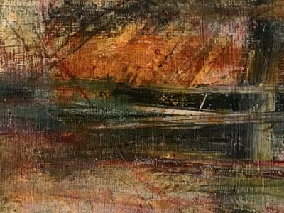 Mini Abstract 14 (Orange series 13-18)
