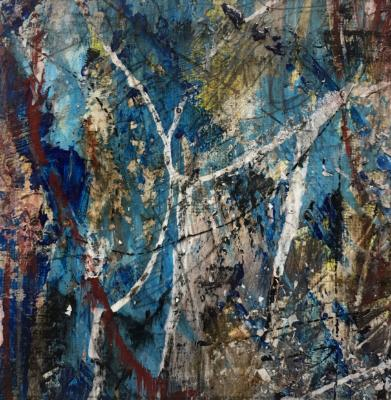 Mini Abstract 11 (Blue Series 1-12)