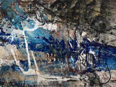 Mini Abstract 6 (Blue Series 1-12)