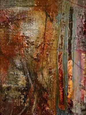 Mini Abstract 16 (Orange series 13-18)